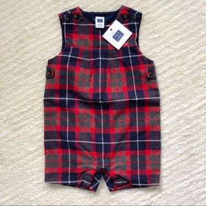 NWT Janie and Jack 1 piece coverall 6-12mos